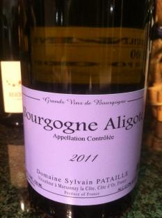 Bourgogne Aligoté, Domaine Sylvain Pataille